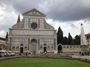 One of my favourite architectural churches in Florence