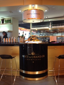 Top of the Rinascente Moet & Chandon Bar