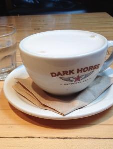 Chai Latte at Dark Horse on Spadina!