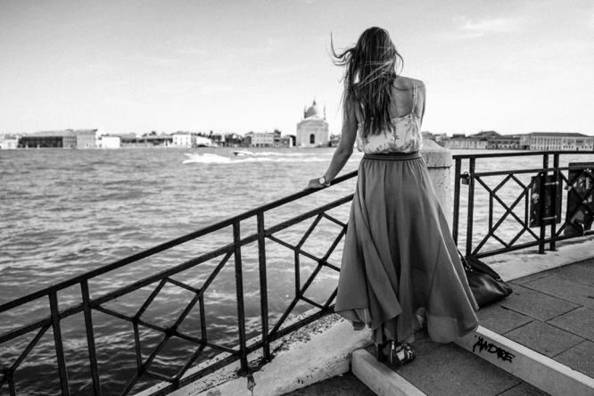Venice Canal with Skirt